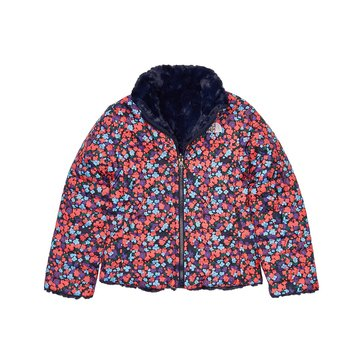 The North Face Big Girls' Rev Mossbud Swirl Jacket