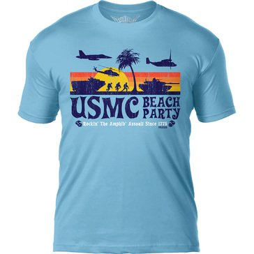 7.62 Men's USMC Beach Party Tee