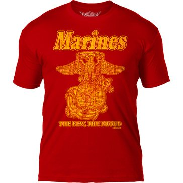 7.62 Men's USMC The Few The Proud Tee