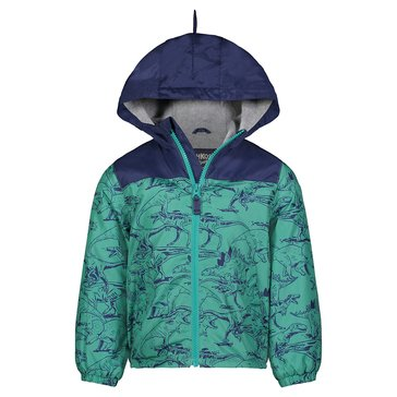 Oshkosh Baby Boy Dino Print Mid-Weight Windbreaker