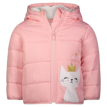 Carters Baby Girl Pocket Puffer Jacket