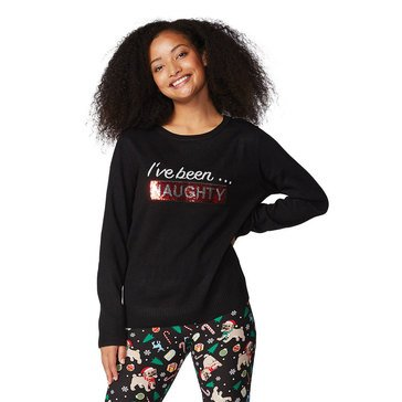 Verve Women's Ive Been Naughty Holiday Sweater
