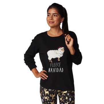 Verve Women's Fleece Navidad Holiday Sweater