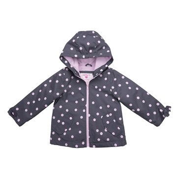 Carters Baby Girl Mid-Weight Polka Dot Jacket