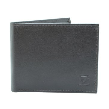 Stone Mountain Mens' Roma Leather RFID Bifold Wallet