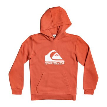 Quiksilver Big Boys' Logo Hooded Fleece