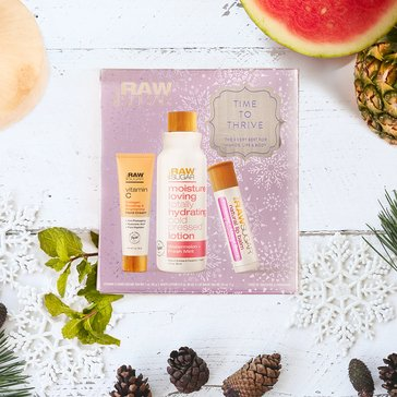Raw Sugar 3pc Time to Thrive Set Vitamin C Lotion Watermelon Fresh Mint