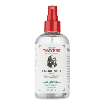 Thayers Alcohol-Free Unscented Witch Hazel Facial Mist Toner 8oz