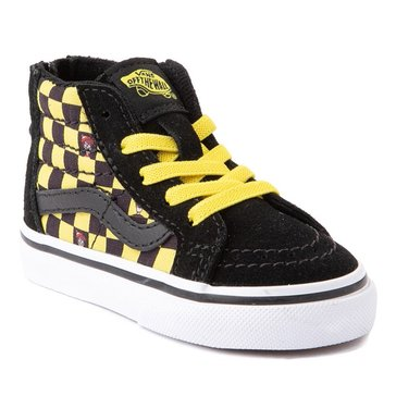 Vans Toddler Boys' Where's Waldo? SK8-Hi Zip Sneaker