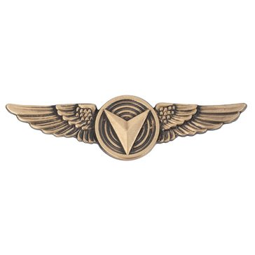 USMC Breast Badge Enlisted Unmanned Aircraft System Bronze
