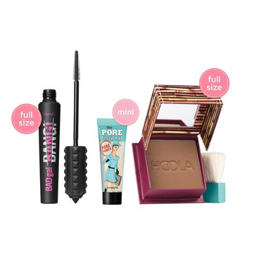 Benefit Cosmetics Tiered Set with Hoola BADGal to the Bone