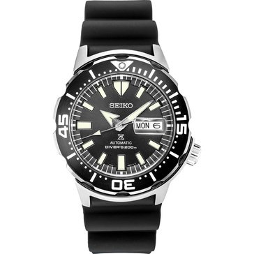 Seiko Men's Prospex Automatic 24 Jewel Silicone Watch