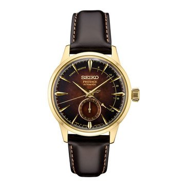 Seiko Men's Presage Limited Edition Automatic Leather Strap Watch