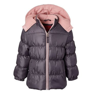 Pink Platinum Toddler Girls' Classic Puffer