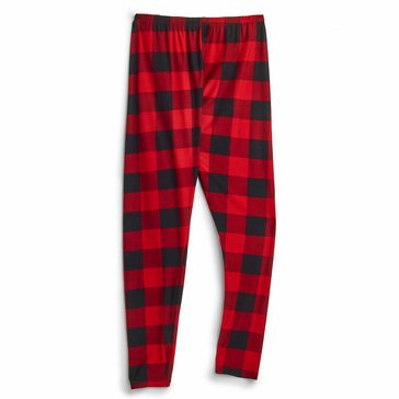 No Comment Juniors' Buffalo Plaid Holiday Leggings