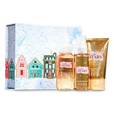 Bath & Body Works Holiday Mini Trio Easel Box In The Stars