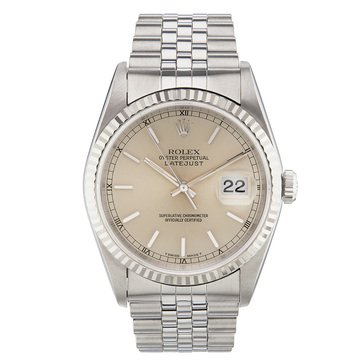 Rolex Men's Datejust Fluted Bezel Jubilee Bracelet Watch