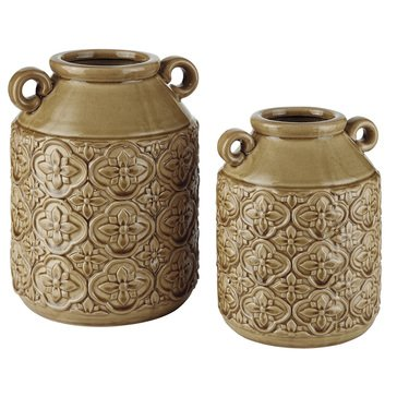 Signature Design by Ashley Edaline Vase Set of 2