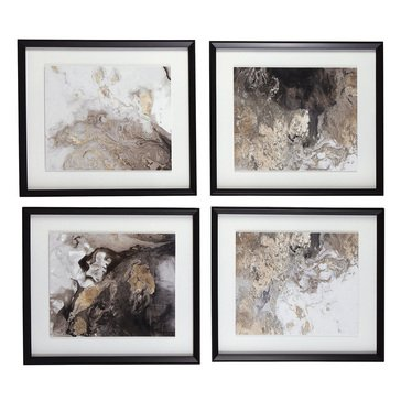 Signature Design by Ashley Hallwood Wall Art Set of 4