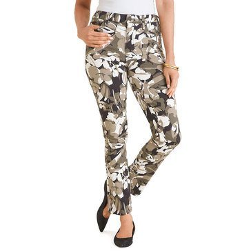 Chico's Women's Camo Girlfriend Denim Jeans