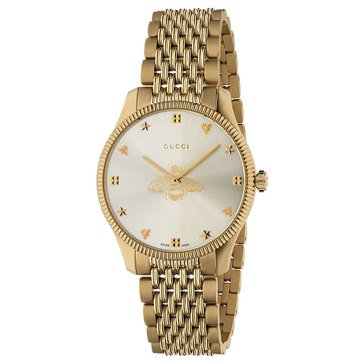 Gucci Men's G Timeless Bee Dial Slim Bracelet Watch