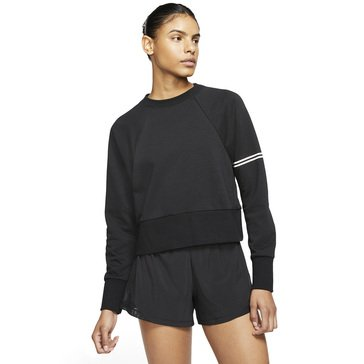 Nike Women's Dry Get Fit Fleece Crew Graphic