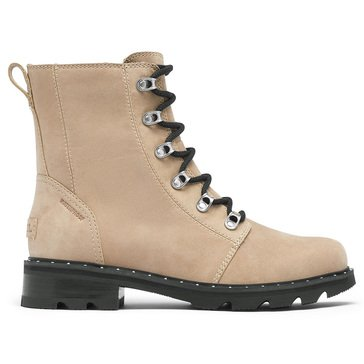 Sorel Women's Lennox Waterproof Lace Up Combat Boot