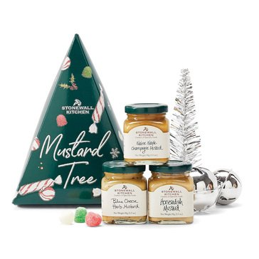 Stonewall Kitchen Holiday Mustard Tree