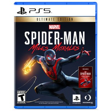 Playstation 5 Marvels Spider-Man: Miles Morales Ultimate Launch Edition