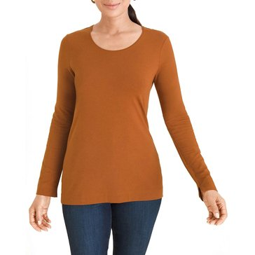 Chicos Women's Layering Long Sleeve Tee
