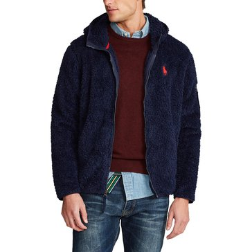 Polo Ralph Lauren Men's Curly Sherpa Long Sleeve Knit