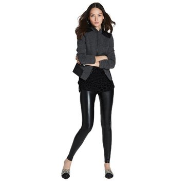 White House Black Market Women's Trapunto Jacket
