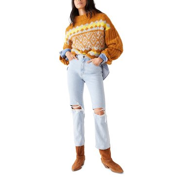 Free People Womens Alpine Pullover