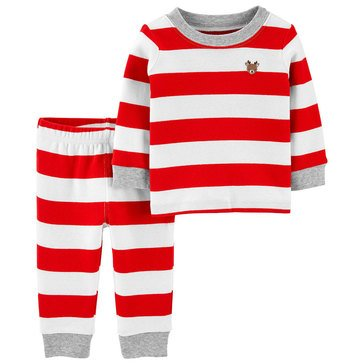 Carters Baby Christmas 3-Piece Striped Set