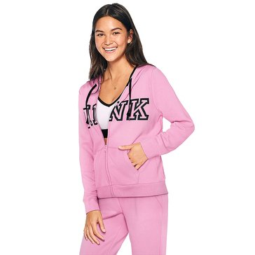 Victoria's Secret PINK Everyday Lounge Perfect Full-Zip Hoodie
