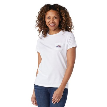 Vineyard Vines Women's American Flag Tee