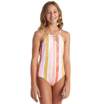 Billabong Big Girls' So Stoked One-Piece Swim Suit