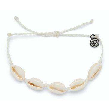 Puravida Knotted Cowries Bracelet