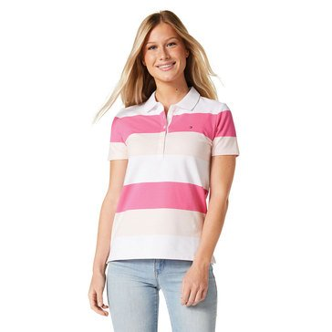 Tommy Hilfiger Women's Rugby Stripe Polo