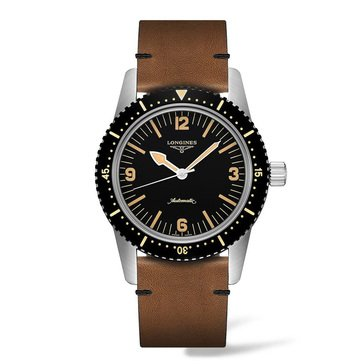 Longines Men's Skin Diver Automatic Watch