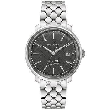 Bulova Men's Frank Sinatra The Best Is Yet To Come Stainless Steel Bracelet Watch