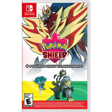 Switch Pokemon Shield: Pokemon Shield Expansion Pass