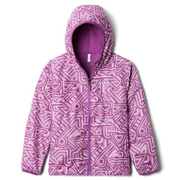 Columbia Little Girls' Pixel Grabber Reversible Jacket