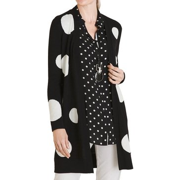 Chico's Women's Dot Cardigan