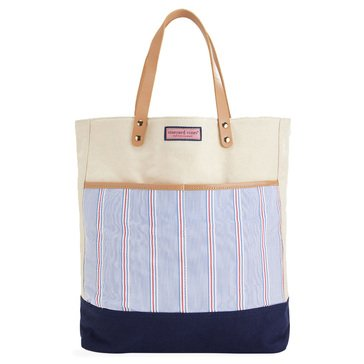 Vineyard Vines Women's Nicholls Stripe Pocket Tote