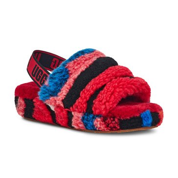 Ugg Women's Fluff Yeah Slide Cali Collage