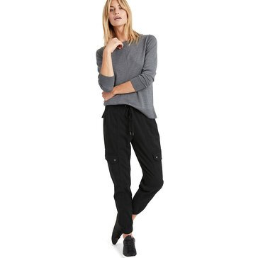 Banana Republic Women's Stretch Tencel Mid Rise Utility Joggers