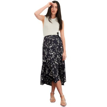 Banana Republic Women's Flounce Midi Skirt
