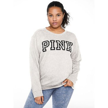 PINK Everyday Lounge Campus Crew Pullover