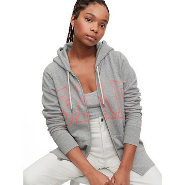 Gap Women's Easy Full Zip French Terry Hoodie